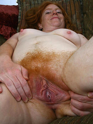 nude pics be useful to mature redhead granny