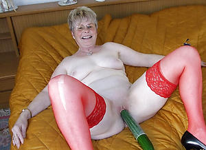 Mr Big older woman masturbates