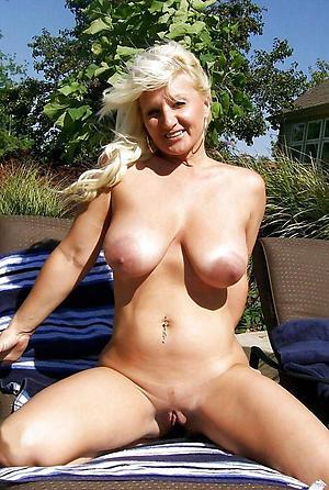 crazy older woman fat tits