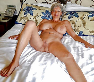 horny older woman stark naked