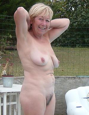 horny granny outdoors pics