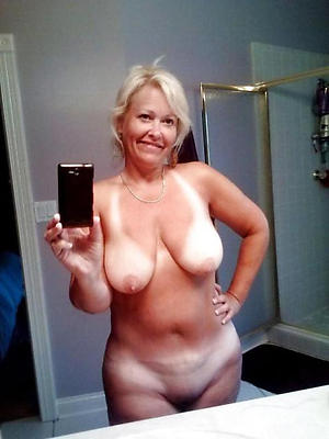 naked self shot at older women