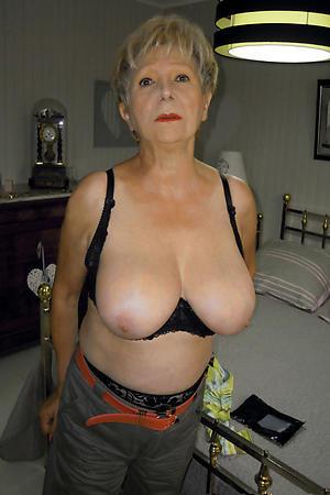 nude pics of old ladies big tits