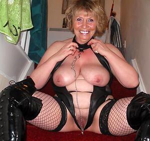 granny boastfully tits homemade pics