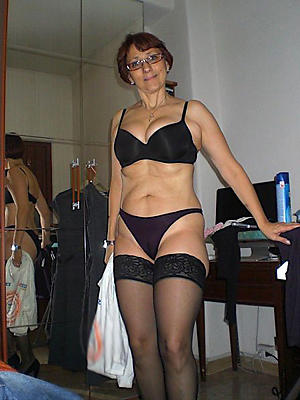 naughty perishable granny pussy in panties