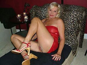 correct granny in heels porn pics