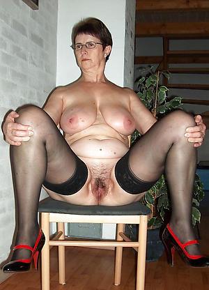 staggering sexy granny legs