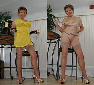 xxx pictures of venerable lady dressed plus undressed