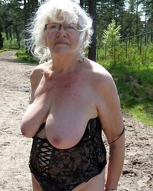 lady granny homemade pics