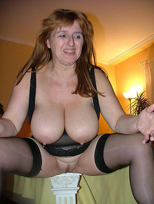 nice busty ancient woman stripped pics