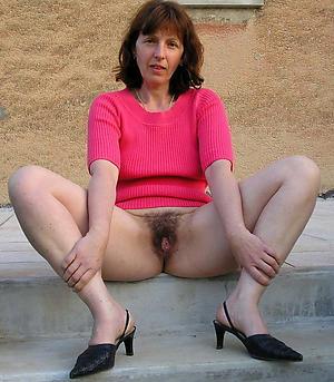 mature hairy grannies posing nude