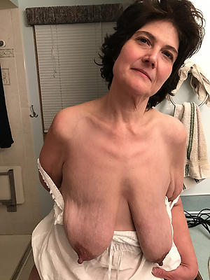 old saggy women nasty tits