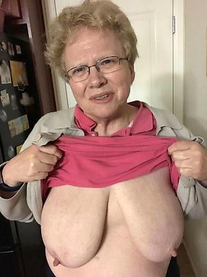 saggy granny boobs amateur slattern