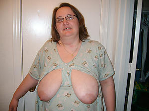 saggy granny tits fucking