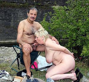 hot older women giving blowjobs photo