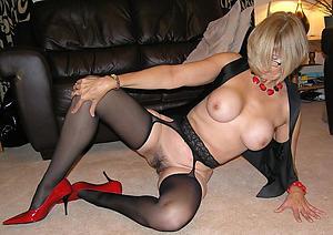 older women in stockings amateur pics