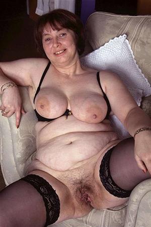 unorthodox pics of granny in stockings