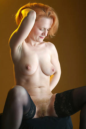 redhead granny freash pussy