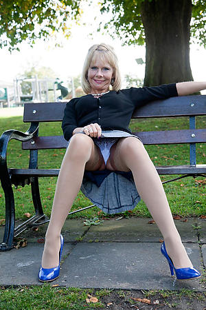 hot older women upskirt stripping