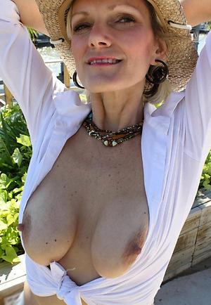 granny nipples amateur old bag
