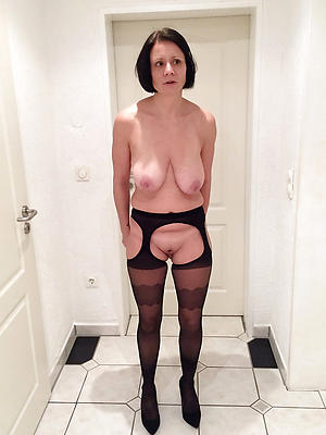nude pics of granny in stockings