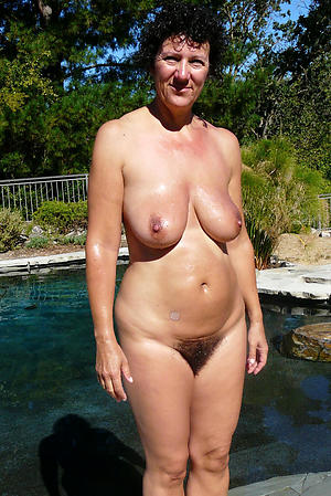 fresh hairy granny pussy private pics