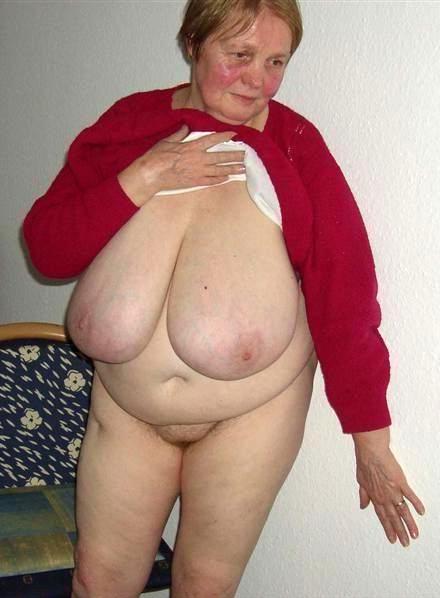 Tits saggy granny Saggy tits