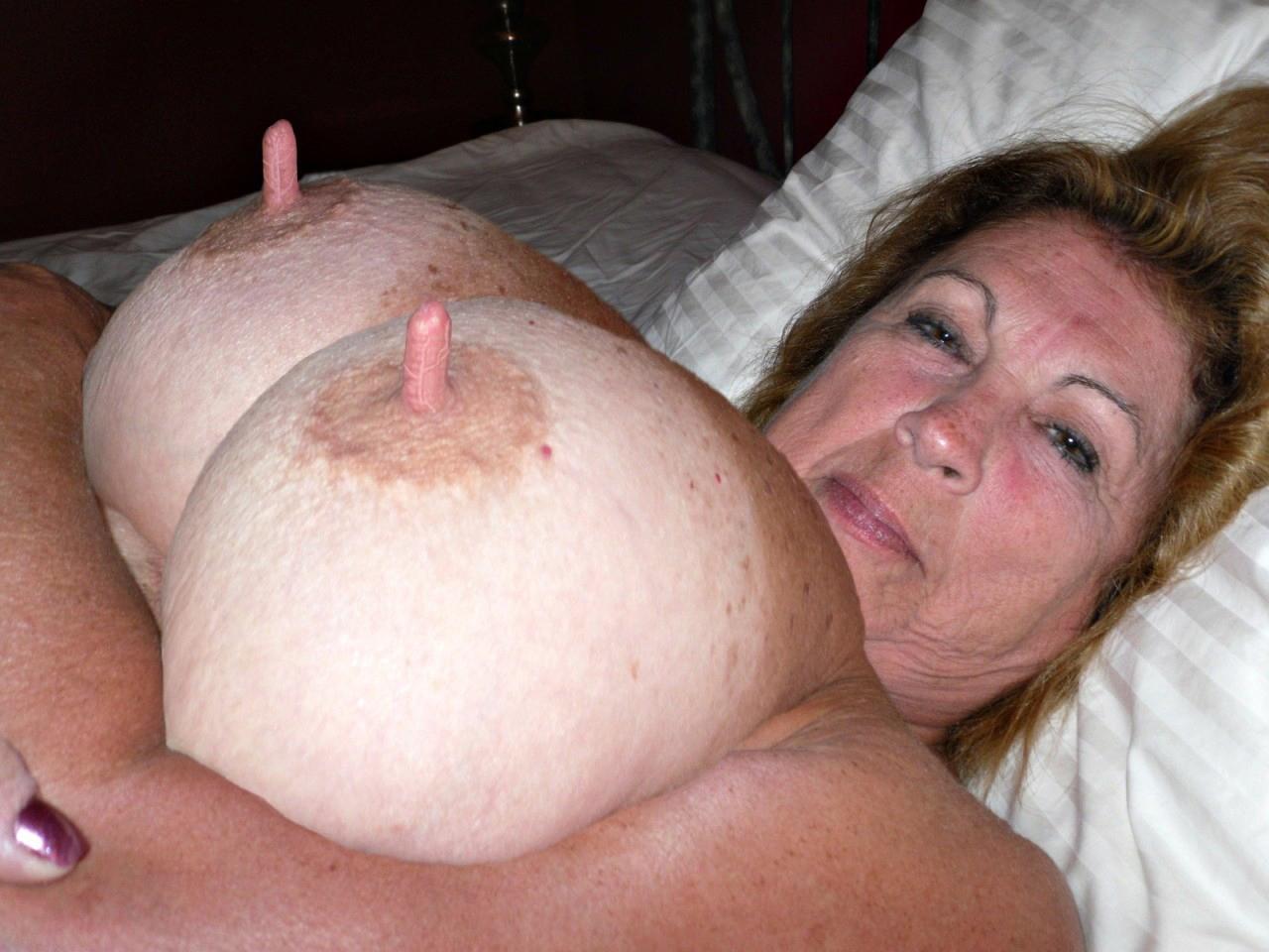 Mature Big Tit Blow Job