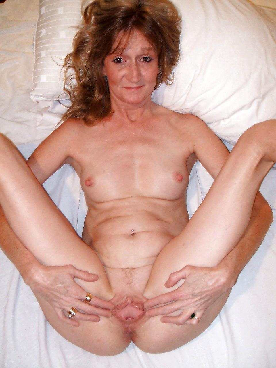 Pussy skinny granny Old Women