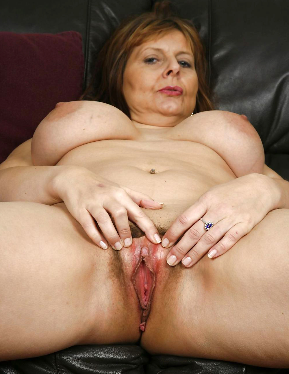 large natural nude woman