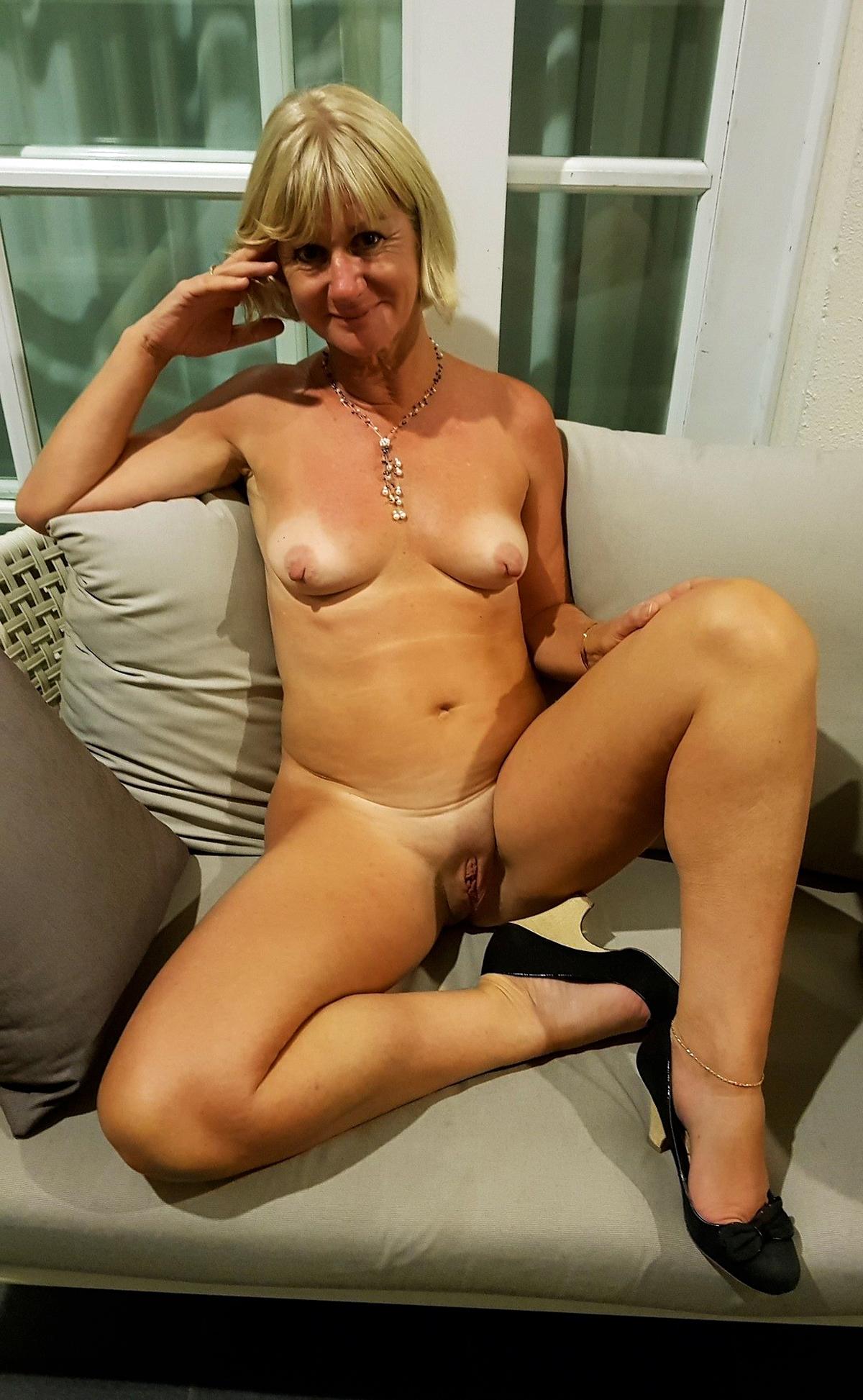 Naked German Mature